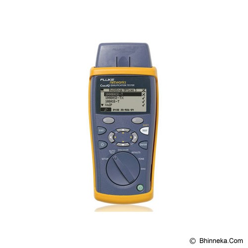 FLUKE CableIQ Qualification Tester [CIQ-100] - Network & LAN Tester